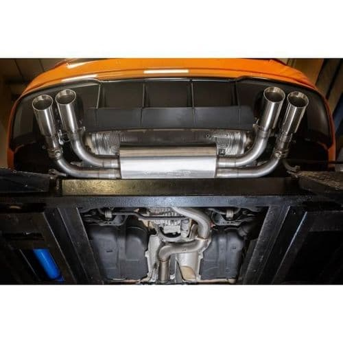 Cobra Sport Audi S3 8V 3 door Quattro 13> Turbo Back Package with Sports Cat & Non-Resonated Valved
